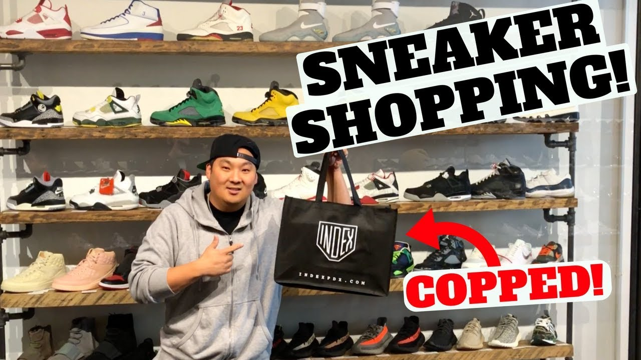 I HAD TO COP THESE GEMS FROM 2012!! Sneaker Shopping at IndexPDX ... 0f31eb992
