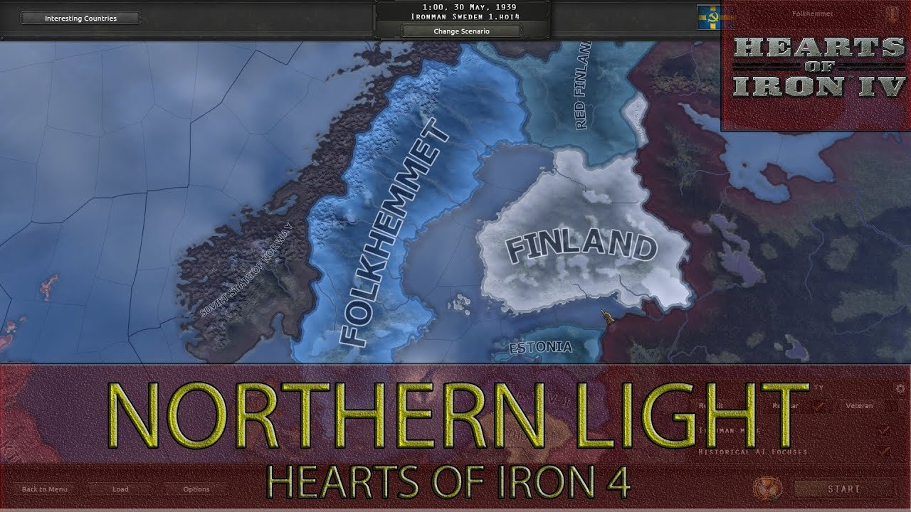 Hearts Of Iron 4 - Northern Light Achievement Guide