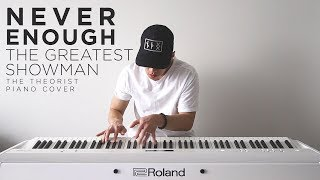 Video The Greatest Showman (Loren Allred) - Never Enough | The Theorist Piano Cover download MP3, 3GP, MP4, WEBM, AVI, FLV Mei 2018