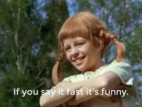 Pippi Longstocking Lyrics. Theme Song