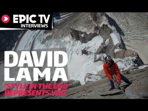 EpicTV Interviews: Alpinist David Lama Talks History, Style and Evolution