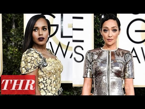 Thumbnail: Golden Globes 2017: Best Dressed with Donald Glover, Ruth Negga, Kerry Washington & More!