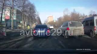 Экзаменационный маршрут ГИБДД г. Архангельска № 4(, 2013-04-14T10:43:26.000Z)