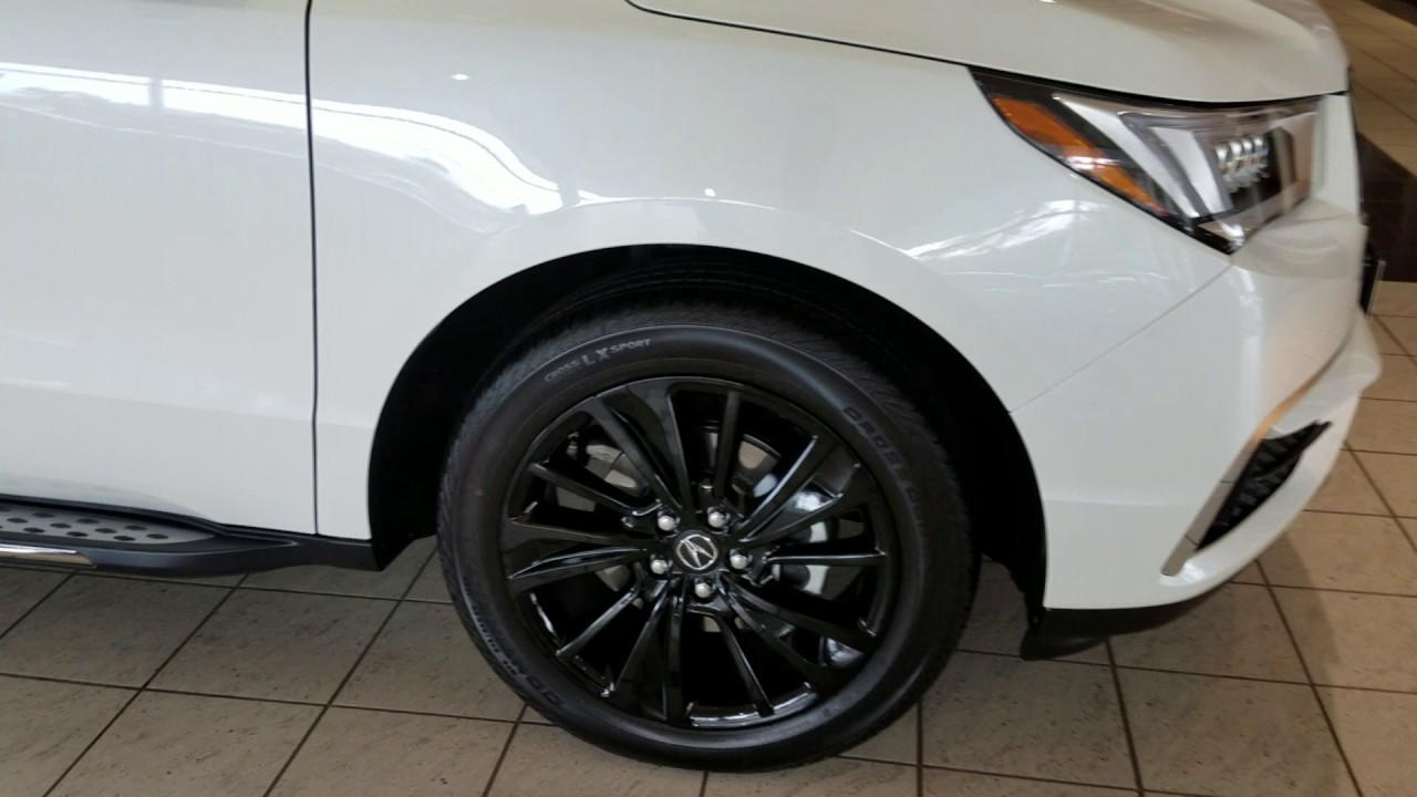 Accessory Wheels For The Acura MDX MS YouTube - Tires for 2018 acura tl