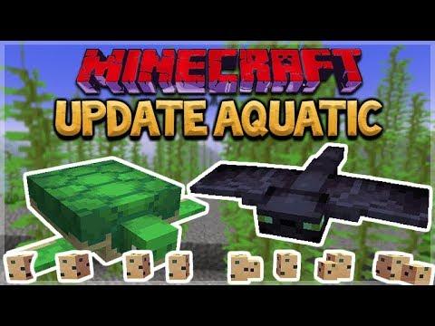 Aquatic Update - Minecraft 1.13 NEW Ocean Update - Survival Island Style! Pt. 2