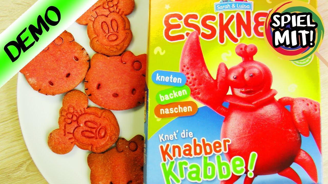 Essknete Essbare Knete Backen Hello Kitty Und Minnie Mouse Kekse
