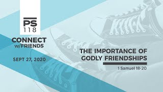 The Importance of Godly Friendship