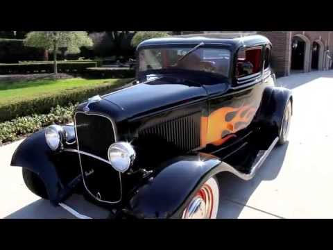 1932 Ford 5 Window Coupe Classic Muscle Car For Sale In Mi Vanguard Motor Sales Youtube