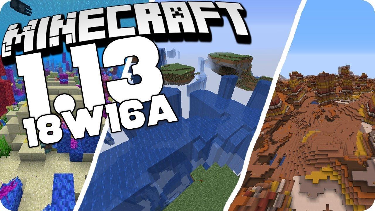 Neuer WeltgenerierungsTyp Buffet Welten Minecraft Wa - Minecraft hamachi server neue welt erstellen