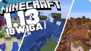 Neuer Weltgenerierungs-Typ (Buffet Welten) - Minecraft 18w16a Snapshot