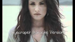 Demi Lovato Skyscraper (Karaoke Version)