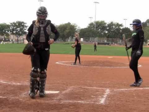 Jackie Buechler Pitching 2011 Enhanced