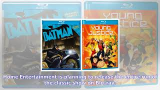 MTV News - Batman the animated series is finally coming to blu-ray