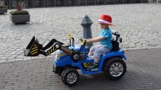Машинкa , Детский транспорт Tractor Excavator . NEW!!!!:))))
