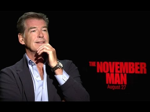Pierce Brosnan Interview - The November Man Movie (2014) JoB