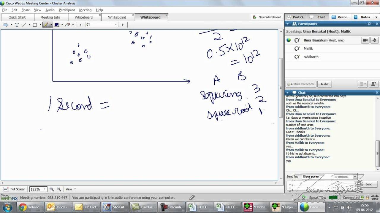 cluster analysis using sas basic k means clustering intro youtube rh youtube com cluster analysis using sas enterprise miner SAS Enterprise Guide Proc Corr