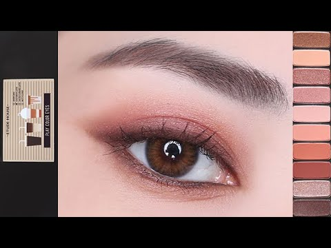 [ENG]���� ����� 메��업(feat.�뛰���� 카��홀릭) |  Deep Red Brown Eye Makeup