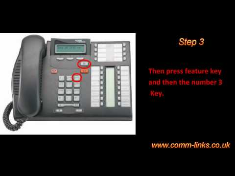 How To Make A Conference Call On My Nortel T7316E Telephone?