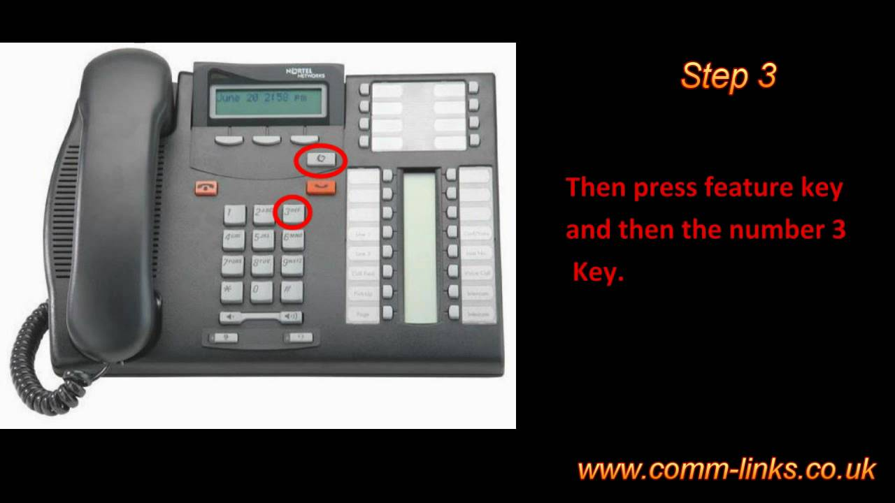 How to make a conference call on my Nortel T7316E ...