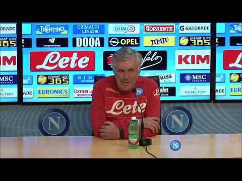Napoli-Empoli, la conferenza stampa di Ancelotti - Ancelotti's press conference