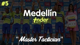 MASTER TACTICIAN #5 - Pro Cycling Manager 2017: Career Mode (Medellin - Inder)
