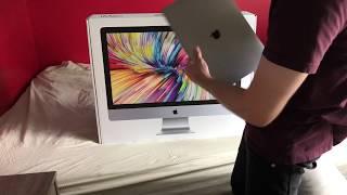 27in 5k iMac Unboxing & Setup