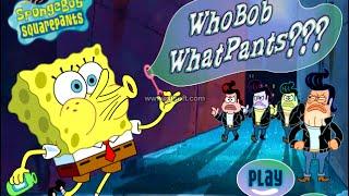 Who Bob what Pants (Spongebob squarepants) - Cartoon For Children ! Best Games !!!