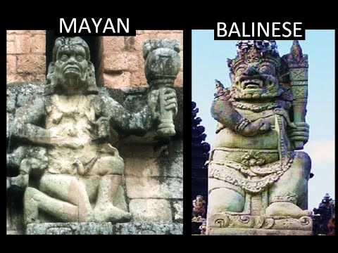 Mayan & Balinese Archaeological Parallels - Twin Ancient Cultures On Opposite Sides Of The Pacific