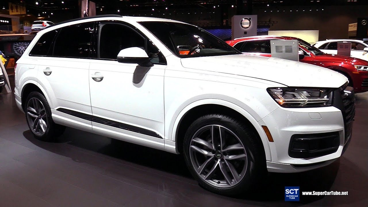 2018 Audi Q7 Quattro Exterior Interior Walkaround 2018 Chicago Auto Show Youtube