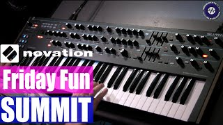 Friday Fun: Novation Summit Synth Jam