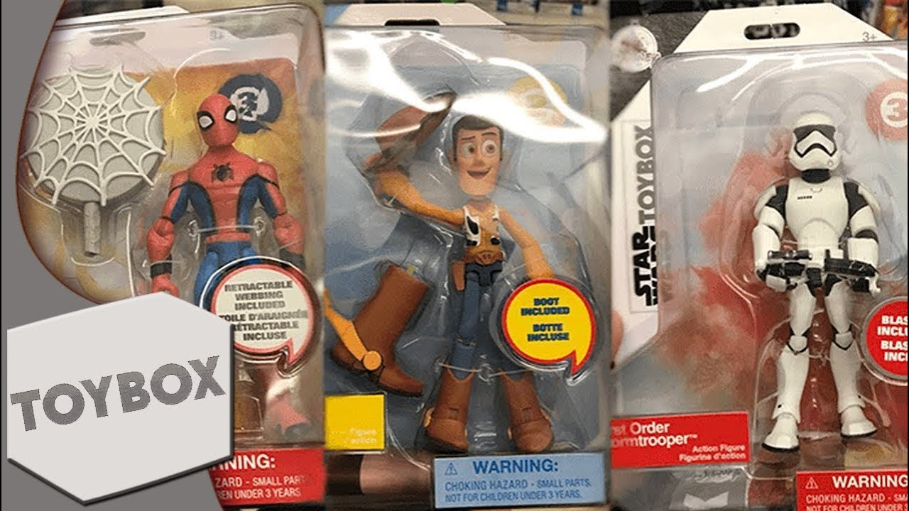 """Kids Toys Action Figure: Disney Infinity Inspired """"Toybox"""" Figure Info (Lineup"""