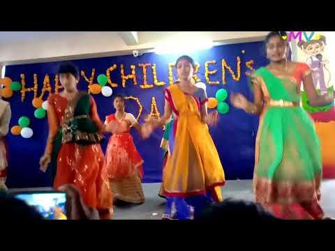 Katuka kallu dance performance in Dr AKR's INSPIRE School (Children's Day)