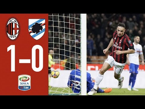 Highlights - ac milan 1-0 sampdoria - serie a 2017/18