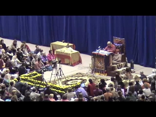Чогьял Намкай Норбу, Игорь Берхин. Москва, 18.05.2009 г., фрагменты