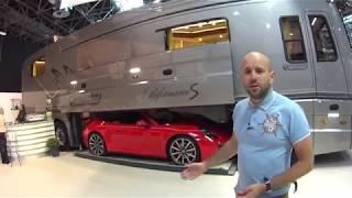 Автодом с Porsche под брюхом? Это Volkner Mobile. Обзор на выставке.