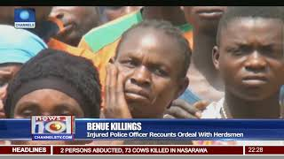 Benue Killings: Gov. Ortom Visits Displaced Persons At Gbajimba Community