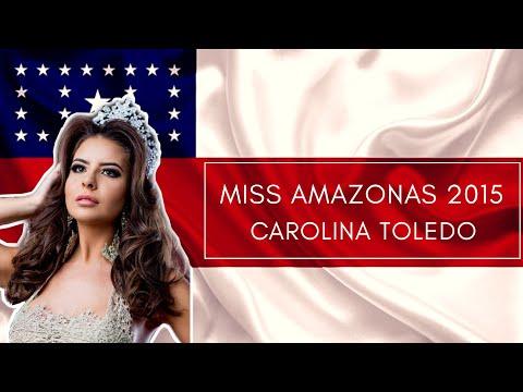Miss Amazonas Be Emotion 2015 - Carolina Toledo