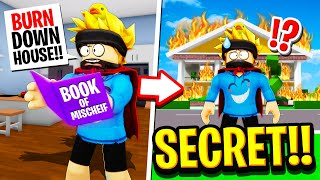 We Found the Book Of MISCHIEF in Roblox BROOKHAVEN RP!!