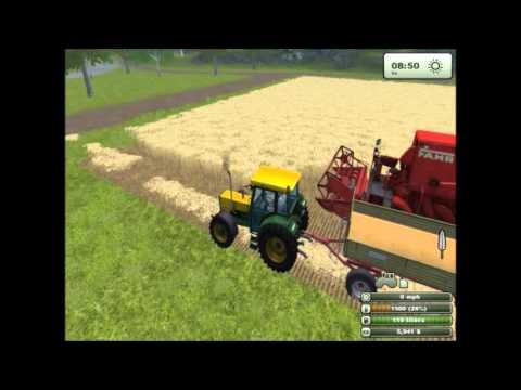 Farming Simulator 2013 - знакомимся с игрой, видео