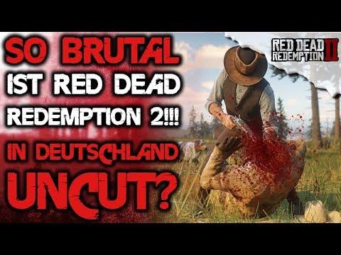 So Brutal ist Red Dead Redemption 2 Alle Details / Infos - Uncut in Deutschland - RDR2 thumbnail
