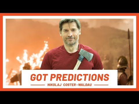 Game of Thrones Season 8 Predictions by Nikolaj Coster-Waldau | Laughing Fit | Men's Health