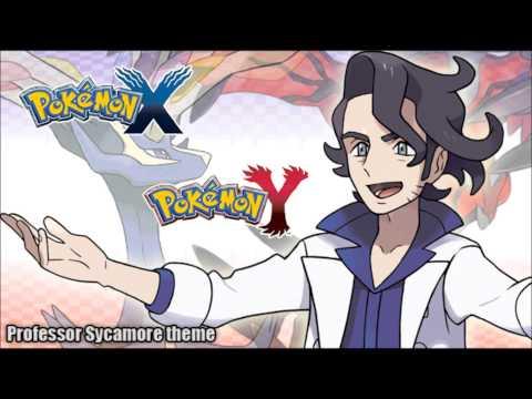 Pokémon X/Y - Professor Sycamore's Theme Music HD (Official)