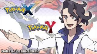 Pokémon X/Y - Professor Sycamore
