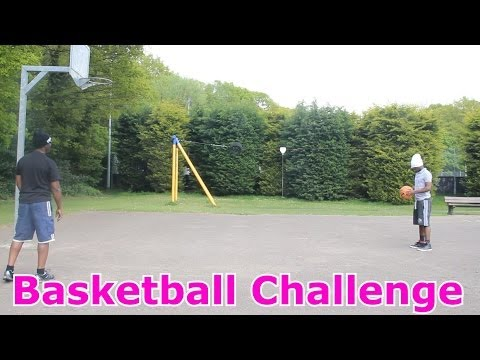 Thumbnail: Basketball Challenge With My Dad