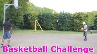Basketball Challenge With My Dad