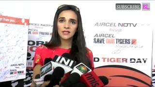 Tara Sharma Join Save Tiger Champaign