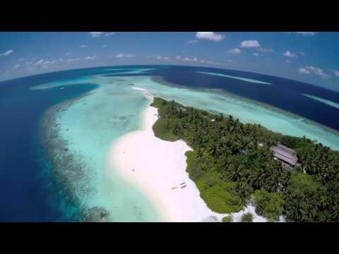 Asdu Sun Island Maldives by Drone