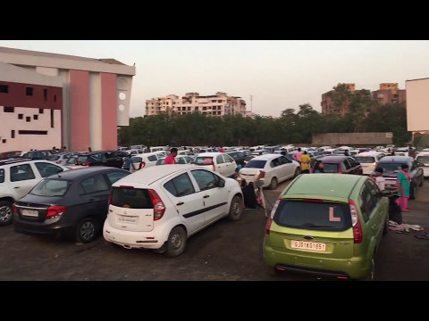bahubali 2 housefull sunset drive in cinema ahmedabad,gujarat,india