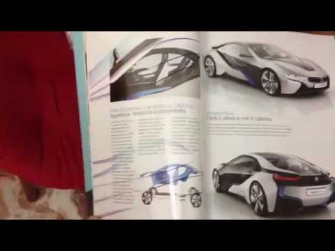 Bmw i8 advertising on Wired Italia