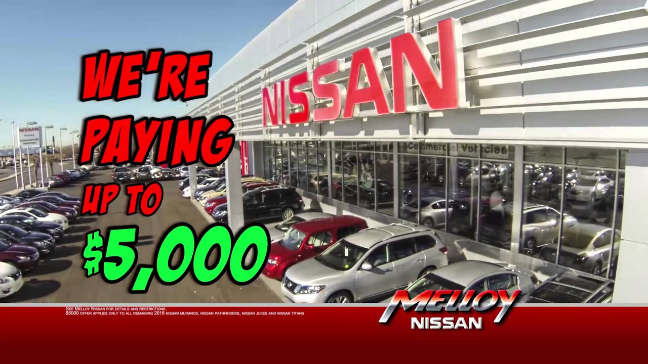 Cash for Clunkers is back at Melloy Nissan Albuquerque. - YouTube
